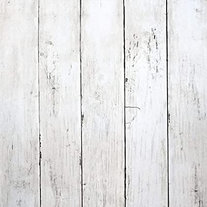 White Wood Peel And Stick Wallpaper 197 X17 7 White Wood Wallpaper White Wood Removable Vintage Wood Plank Wallpaper Self Adhesive Decorative Wall