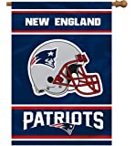 NFL New England Patriots 2-Sided 28-by-40-Inch House Banner