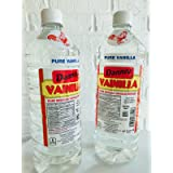 2 X Danncy Clear Pure Mexican Vanilla Extract From Mexico 33oz Each 2 Plastic Bottle Lot Sealed