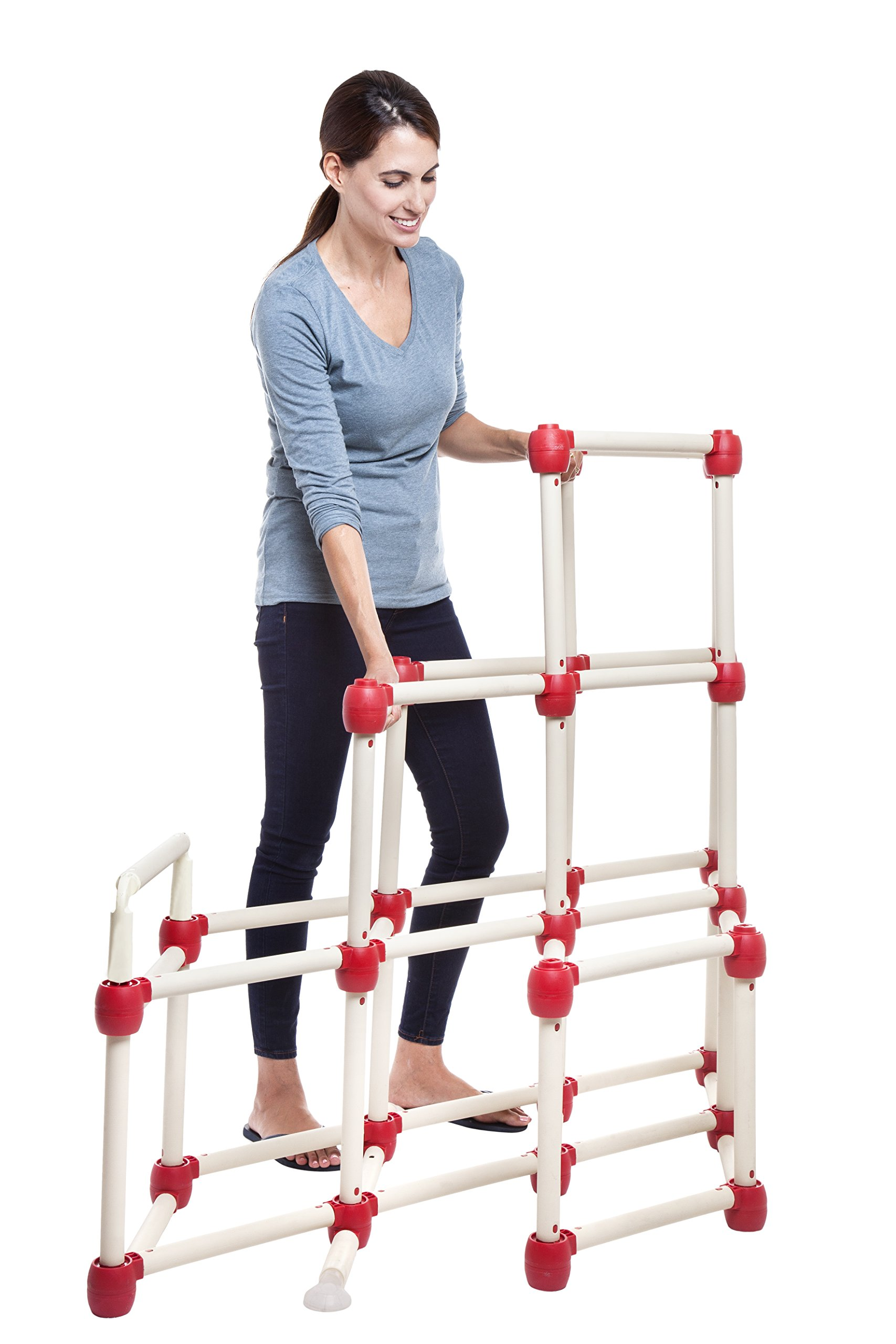 Lil Monkey Everest Climber GYM Foldable Frame Structure With Slide 1.5 Meter hight by Lil' monkey