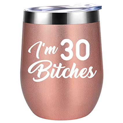 I M 30 Funny 30th Birthday Gifts For Women Best Turning 30 Year Old Birthday Gift Ideas For Wife Mom Sisters Her Friends Coworkers Coolife