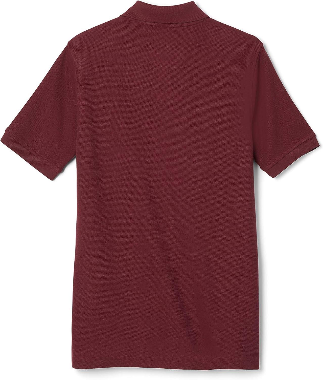 French Toast Boys' Short Sleeve Pique Polo Shirt (Standard & Husky): Clothing