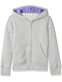 Amazon Essentials Big Girls' Fleece Zip-up Hoodie