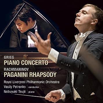 【Amazon.co.jp限定】グリーグ:ピアノ協奏曲 イ短調 / ラフマニノフ:パガニーニの主題による狂詩曲(CD)(メガジャケ付き)