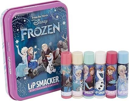 Lip Smacker Disney Frozen luces del norte – Estuche Metal Set de 6 Bálsamo labial: Amazon.es: Belleza