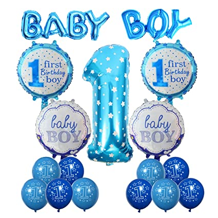 amazon com cocodeko 1st birthday decoration inflatable helium foil