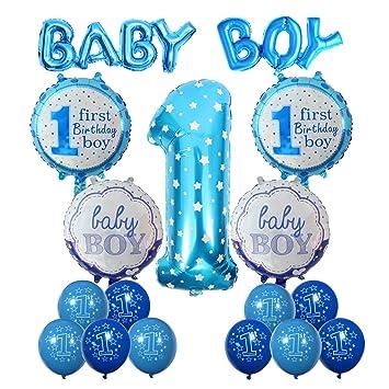 Amazon Cocodeko 1st Birthday Decoration Inflatable Helium Foil