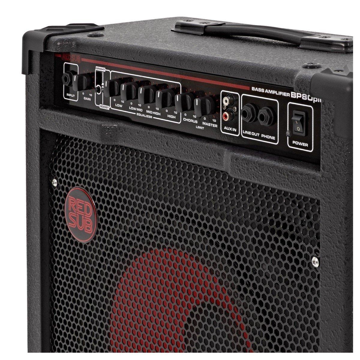 RedSub BP80plus Amplificador de Bajo 80 W: Amazon.es: Instrumentos musicales
