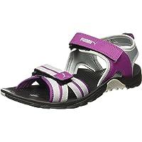 Puma Women's Comfy Dp Wn Black-Dark Purple Fashion Sandals