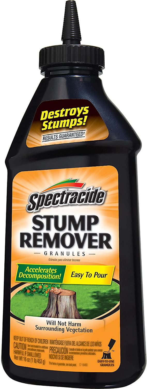 Spectracide Stump Remover Granules, 1-Pound, 6-pack
