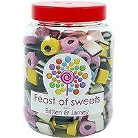 Liquorice Allsorts 1.4Kg. Big Feast of Sweets jar