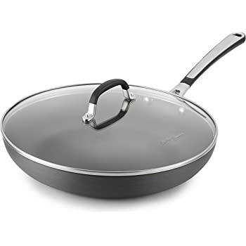 Amazon Com Simply Calphalon 8 Inch Covered Omelette Fry