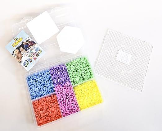 Hama Midi Bügelperlen kleine Aufbewahrungsbox 6701 Steckperlen Perlen Sortierbox Basteln & Kreativität