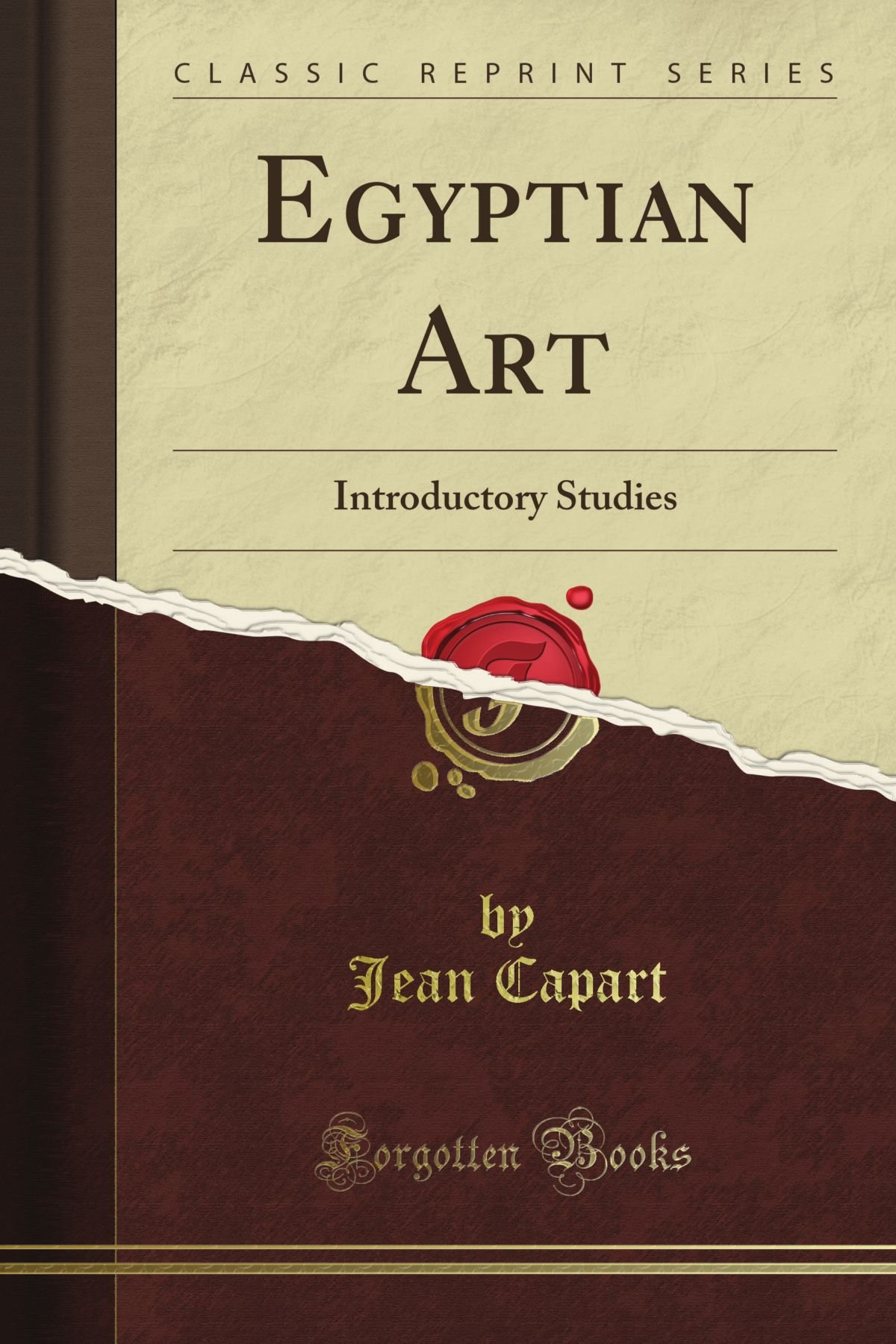 Egyptian Art Introductory Studies (Classic Reprint) ebook