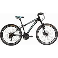 Hercules-Roadeo Hank 2018 24T 18 Speed Premium Geared Cycle(Pitch Black)