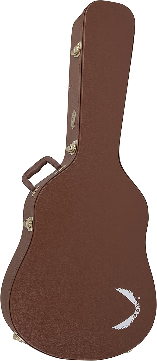 Dean HS DA Hardshell Case for Exotica Exhibition Series Guitars Brown Tradition