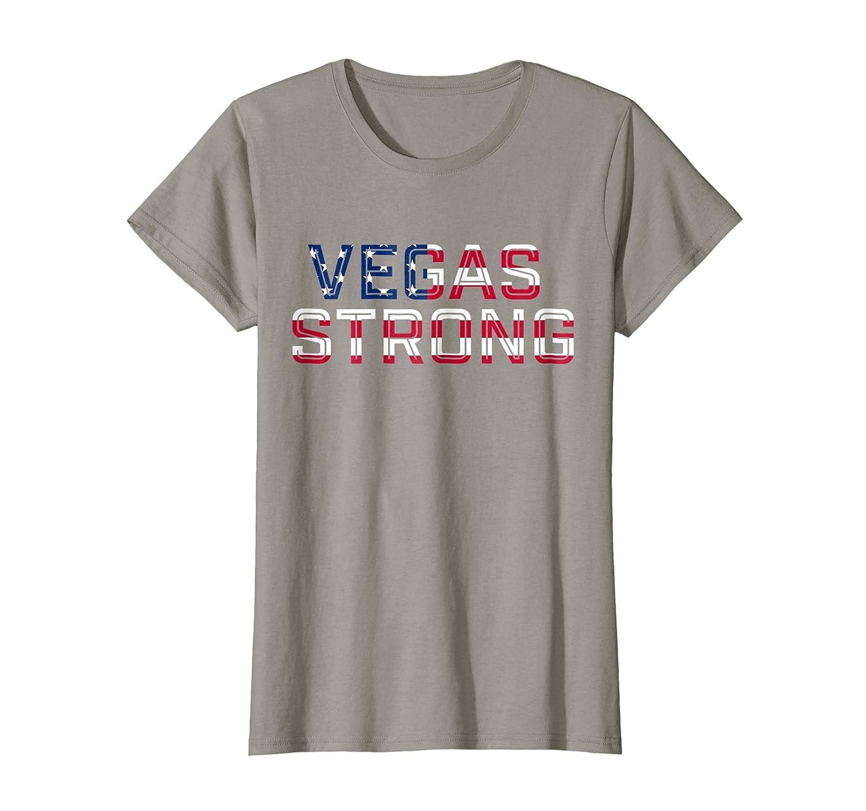 Amazon Com Vegas Strong T Shirt Clothing