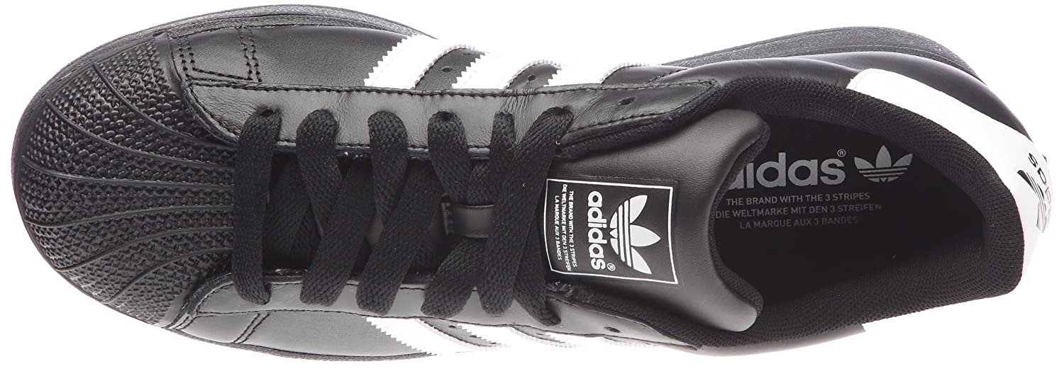 adidas trainers black and white