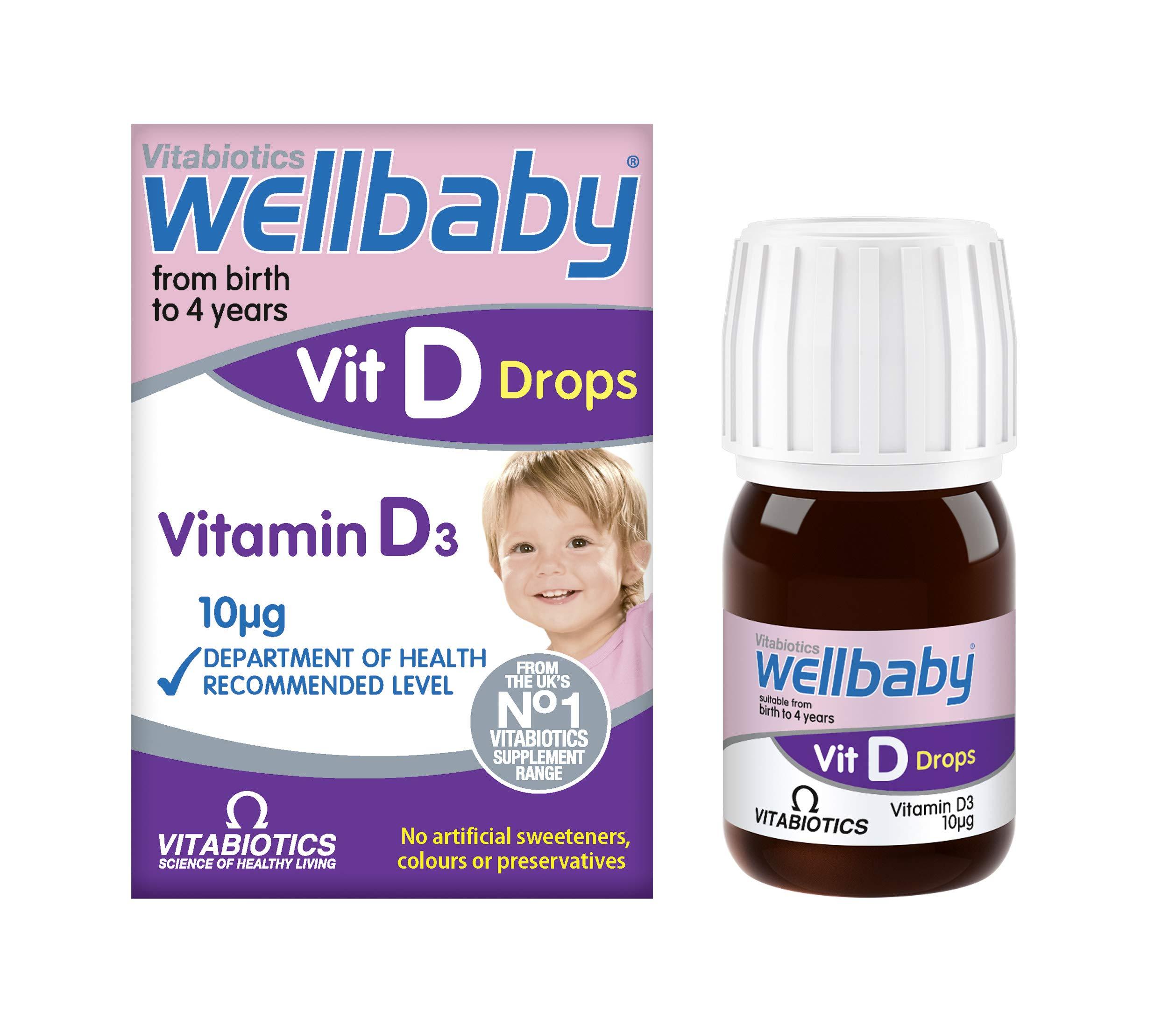 Vitabiotics Wellbaby Vit D Drops - 30 ml