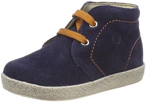 Falcotto 1195, Sneaker Bimbo, Blu (Navy-Ocra 9111), 22 EU