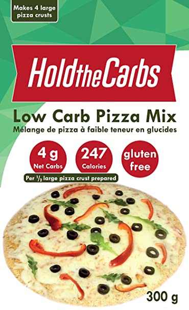 Low Carb Pizza Crust Mix Very Low Calorie Gluten Free No Added