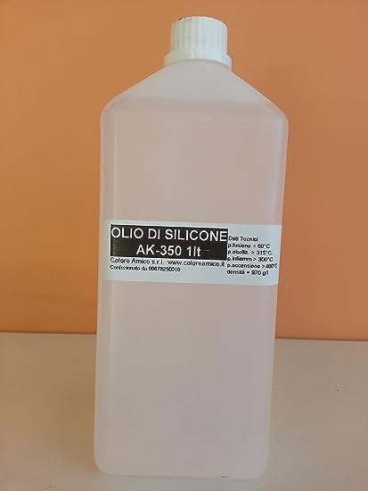 Aceite de silicona – Aceite siliconico ak350 1 kg antiaglomerante abrillantado Lubricante