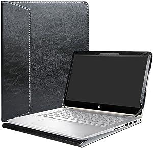 """Alapmk Protective Case Cover for 14"""" HP Pavilion x360 14 14-baXXX 14m-baXXX (14m-ba000 to 14m-ba999,Such as 14M-BA114DX,Not fit Pavilion x360 14 14-cdXXX & Pavilion 14 Series) Laptop,Black"""