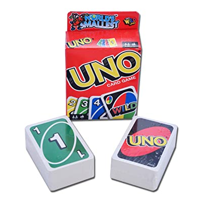 World\'s Smallest Uno Card Game: Toys & Games [5Bkhe0901095]