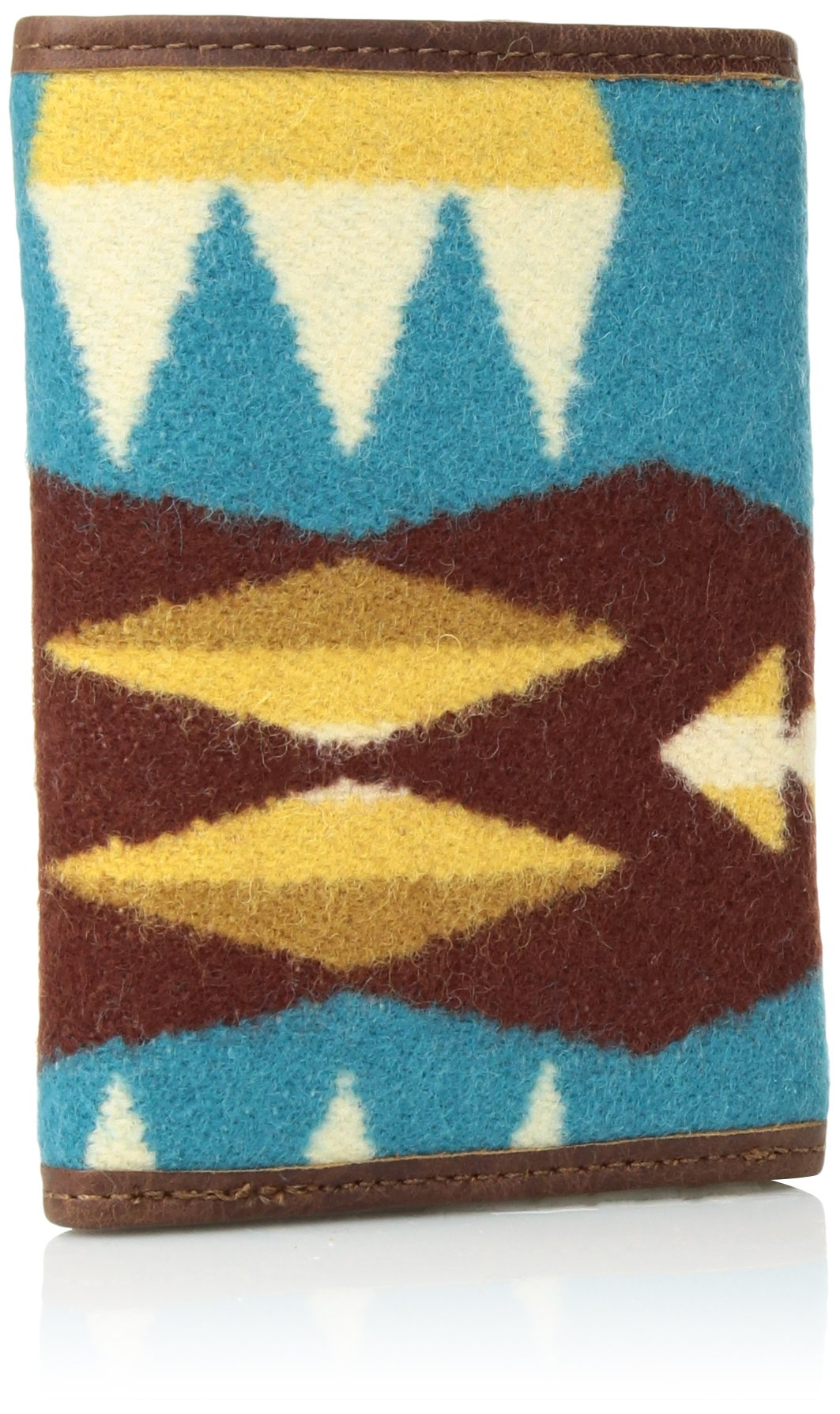 Pendleton Men's Trifold Wallet, Tucson Turquoise, One Size by Pendleton (Image #2)