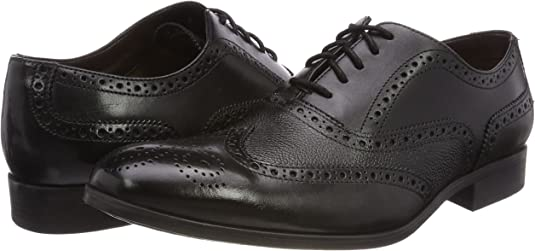 Mens Gilmore Limit leather Brogue shoes G-Fitting by Clarks £74.99