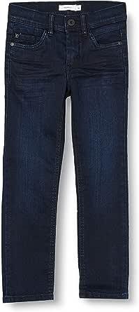 NAME IT Nkmsilas Dnmcart Pant Camp Jeans para Niños