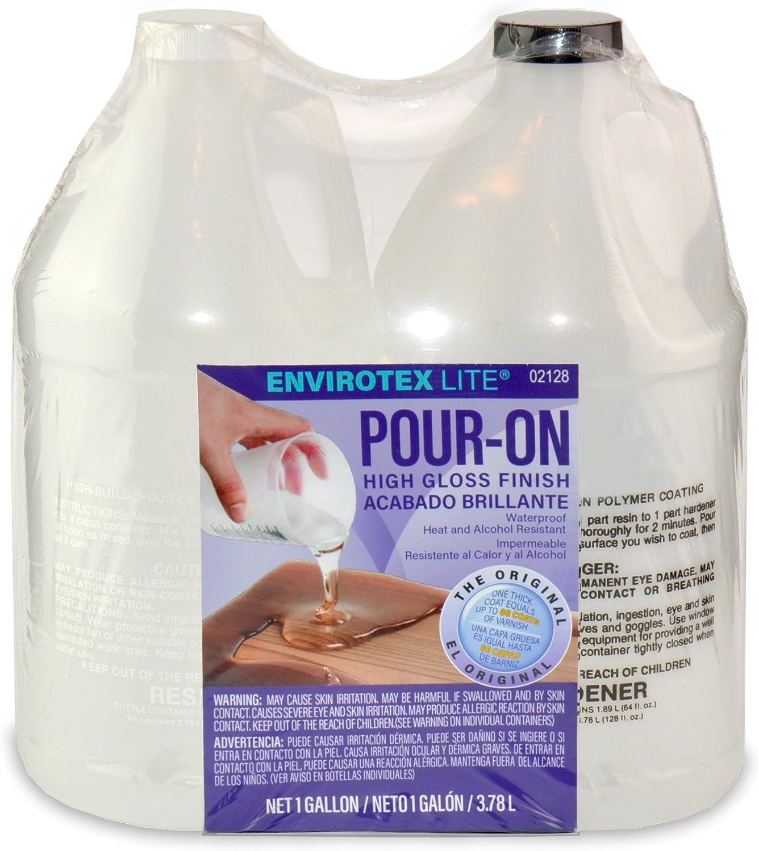 Environmental Technology 2128 128-Ounce Kit Lite Pour-On, High Gloss Finish, Gallon