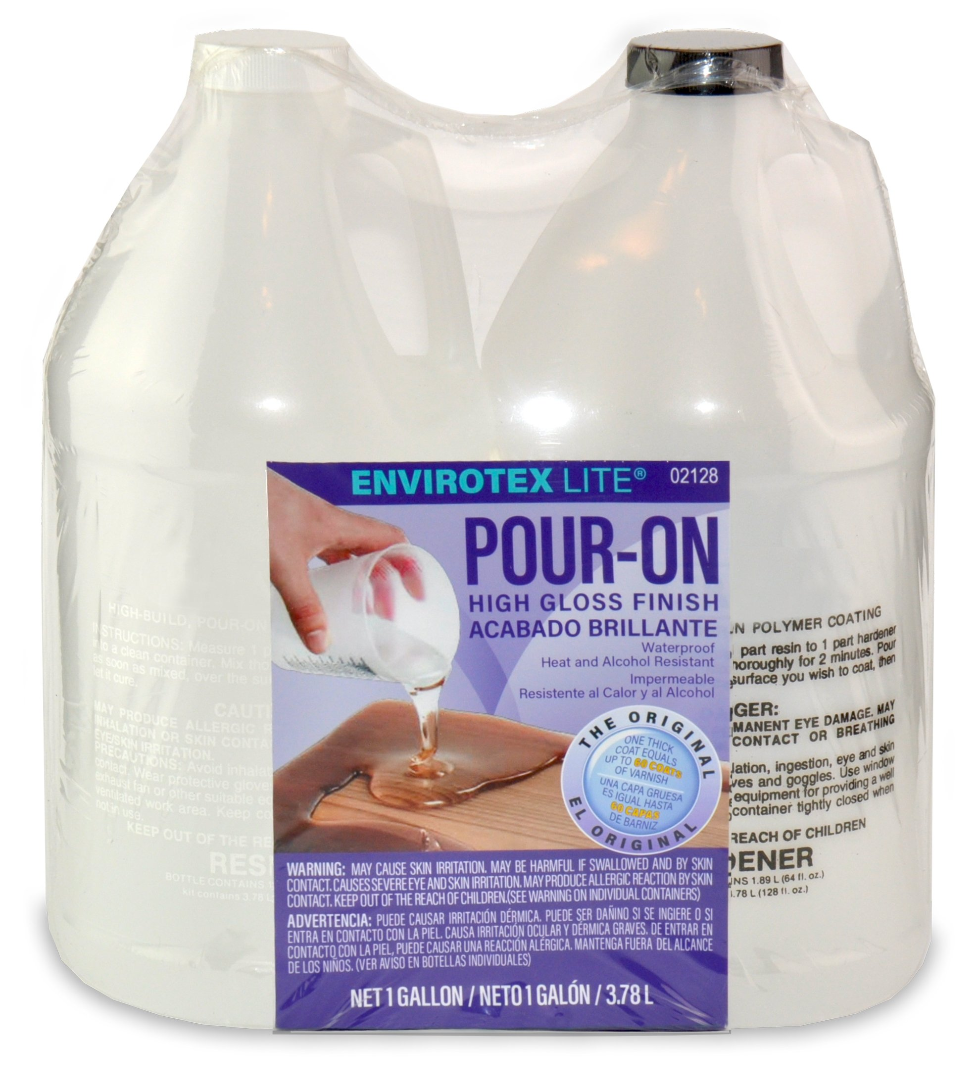 Environmental Technology 2128 128-Ounce Kit Lite Pour-On, High Gloss Finish