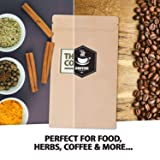 100 Smell Proof Bags - 4.3x7.25 Inches Heat