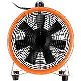 BuoQua Professionale Ventilatore Di Costruzione 250mm 10Inch Ventilatore Da Pavimento Ventilatore Industriale A Tamburo