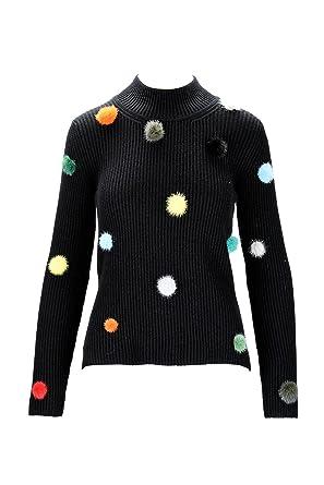 89acfcd2b123 Fendi - Pull - Femme - Noir - 40  Amazon.fr  Vêtements et accessoires