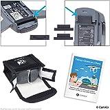 Pack Sicurezza Viaggio per DJI Spark - Per Batterie - Include: Borsa di Sicurezza LiPo, Cover Porta Batteria, Cover Porta di Ricarica e Istruzioni di Viaggio - Kit Protezione Ideale per Viaggi in Aereo (Per 2 Batterie)