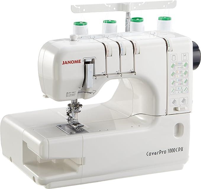 Janome Coverstitch CP1000CPX - Máquina de Coser: Amazon.es: Hogar