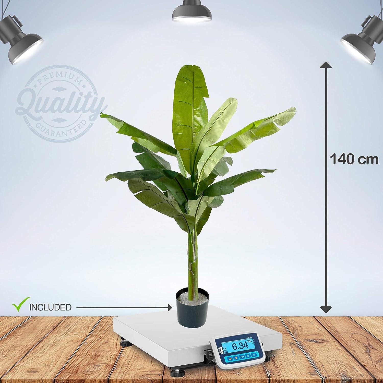 Haut de Gamme bananier Tropical Arbres artificiels Flore Office Bananier Artificiel 140 cm