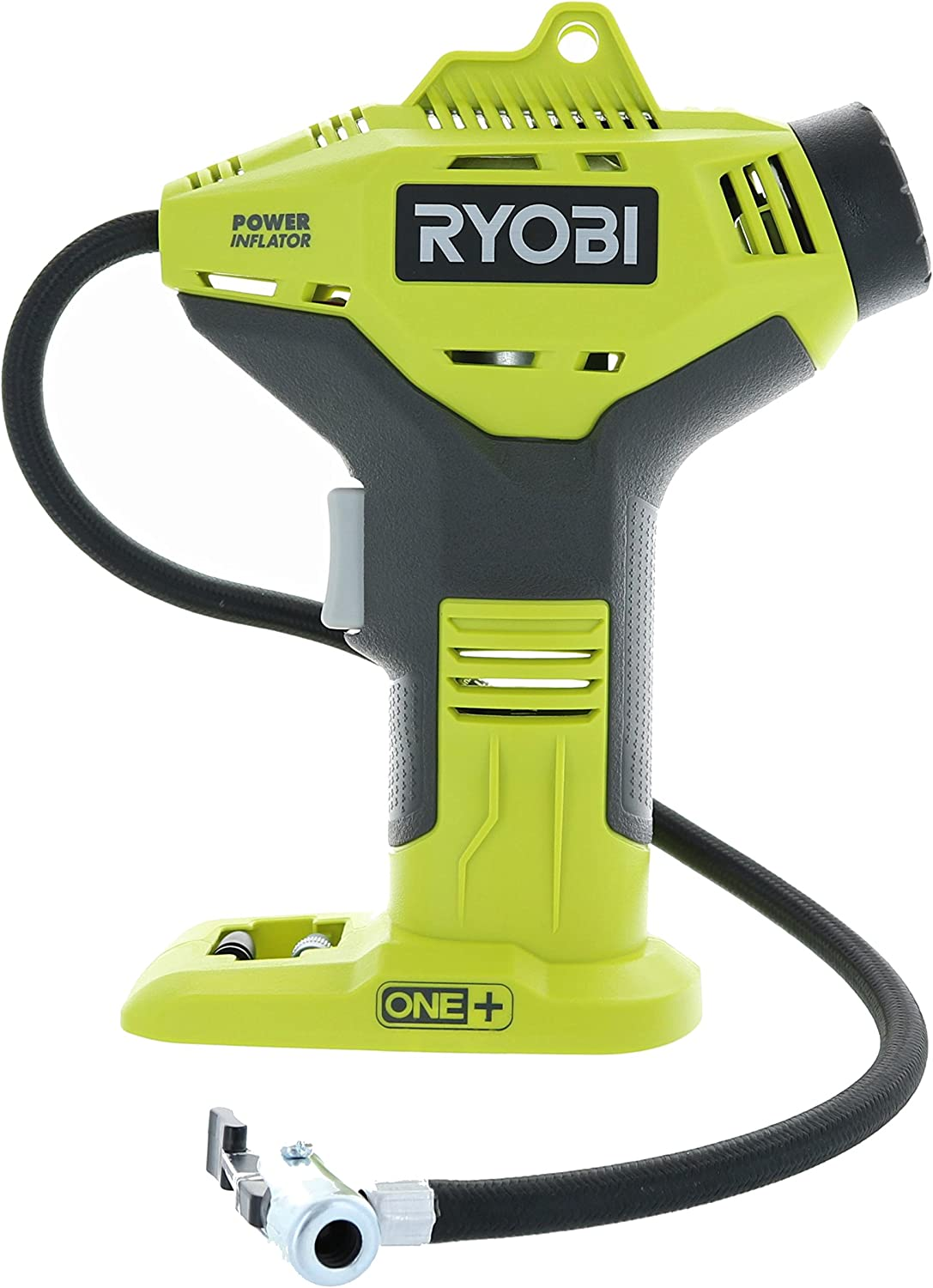 Ryobi P737 18-Volt ONE Portable Cordless Power Inflator for Tires Battery Not Included, Power Tool Only