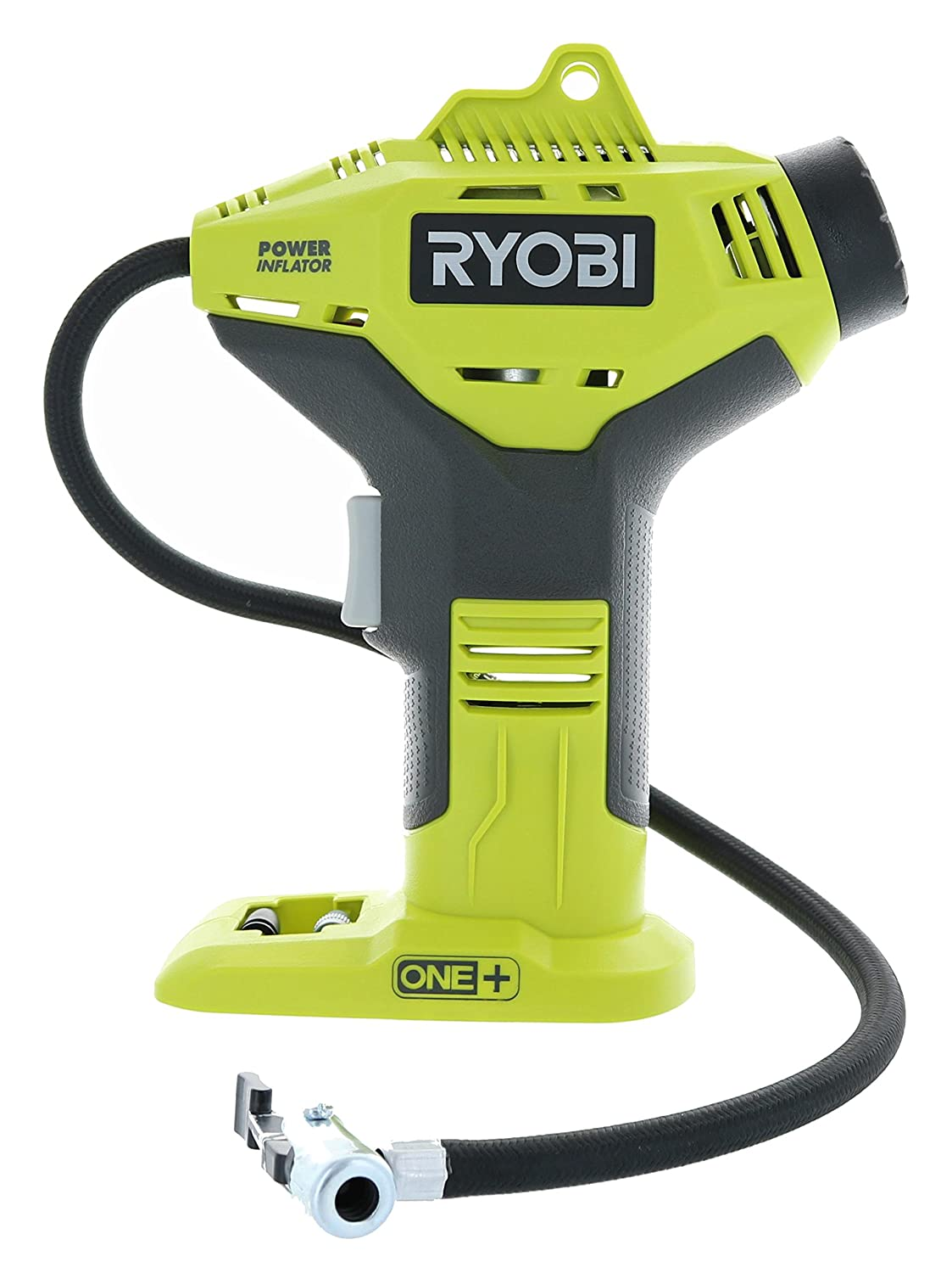 Ryobi P737 18-Volt ONE Battery Not Included, Power Tool Only Portable Cordless Power Inflator for Tires