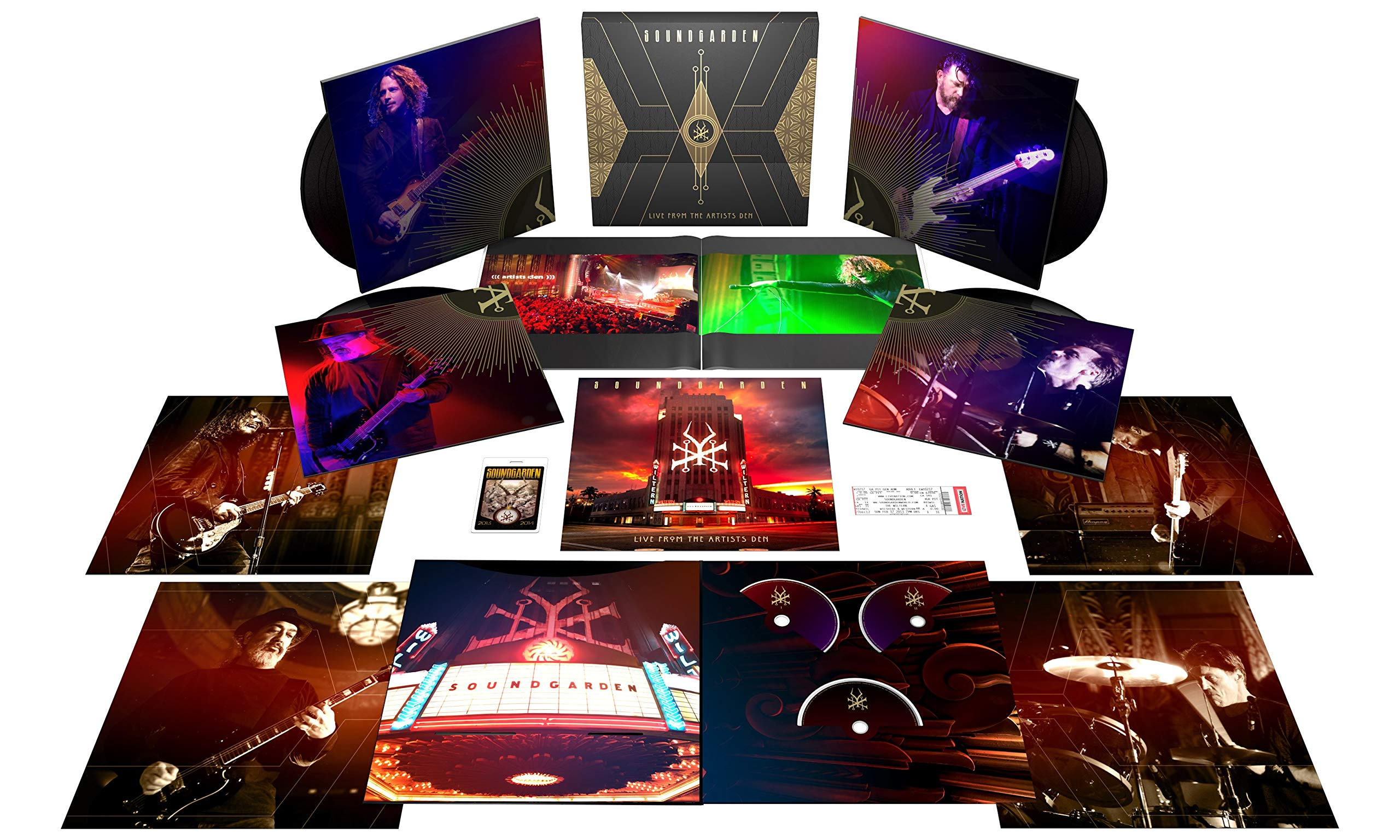 Live From The Artists Den [4 LP/2 CD/Blu-ray Super Deluxe Edition]