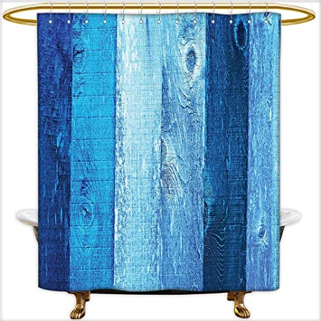 Amazon Qinyan Home Decor Shower Curtains Distressed Vintage