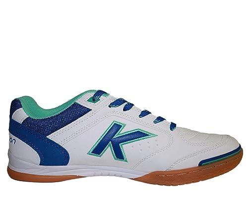 Kelme Precision, Zapatillas Para Hombre, Blanco (Blanco y Royal 704), 39 EU: Amazon.es: Zapatos y complementos