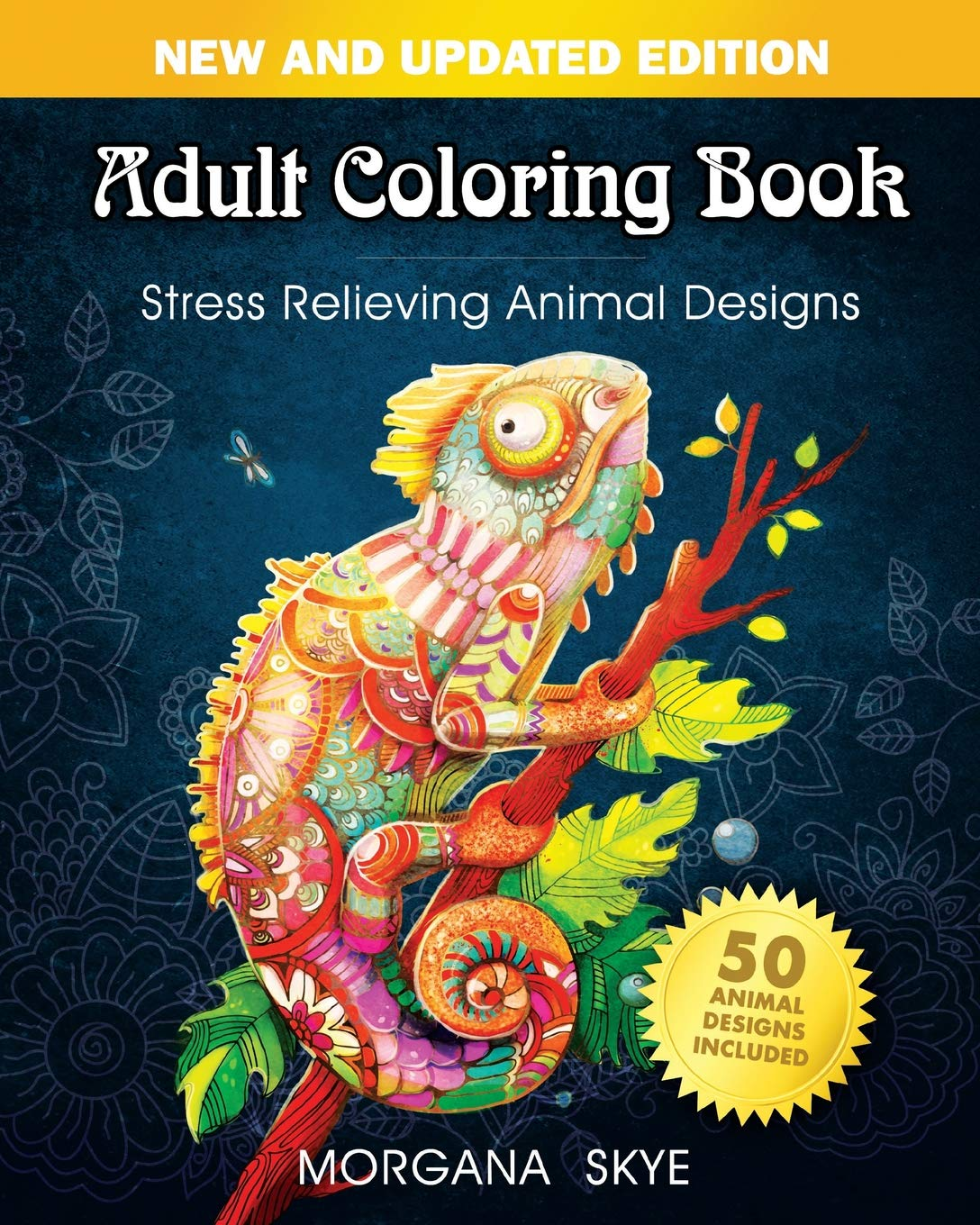 Adult Coloring Book: Stress Relieving Animal Designs ebook