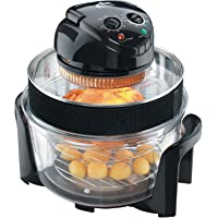 VisiCook Halogen Oven 2015 with Sleeved Extender Ring and Cool Surround Encasement Bowl, 12.0 Litre, 1400 W - Black by Visicook