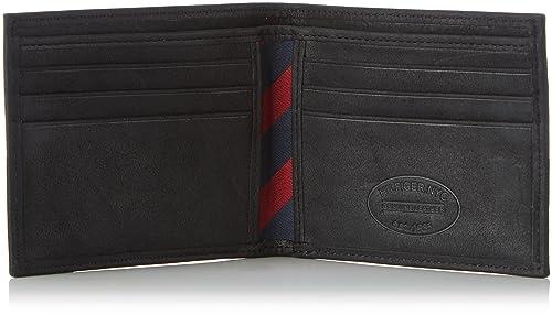 Tommy Hilfiger Johnson Mini CC Wallet, Cartera Hombre^Mujer, 11x9x2 cm (B x H x T)