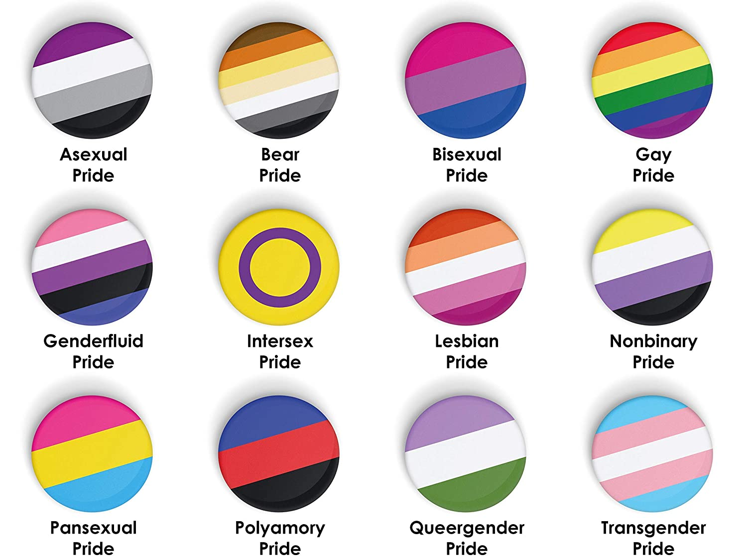 25x70mm HELLO MY PRONOUNS ARE SHE//HER//HERS pin badge button LGBT LGBTQ+