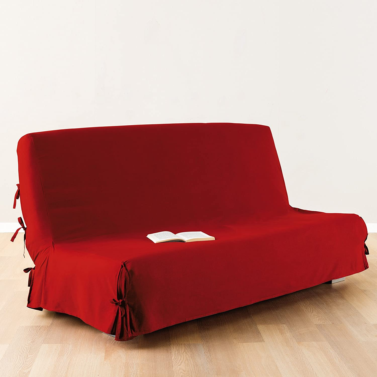 Sofa bed Futon cover 100 % cotton colour RED Amazon