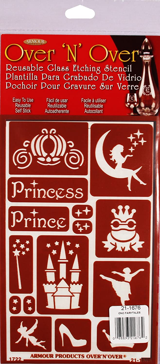 Armour 21-1676 Stencil Fairytales Crafts Supplies Armour Products